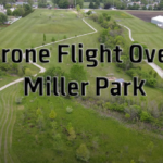 Drone Flight over local park